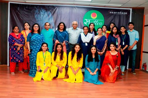 Team Samvedna with MLA Bhupendra Patel and  Mayor Bijal Patel of Ahmedabad.JPG