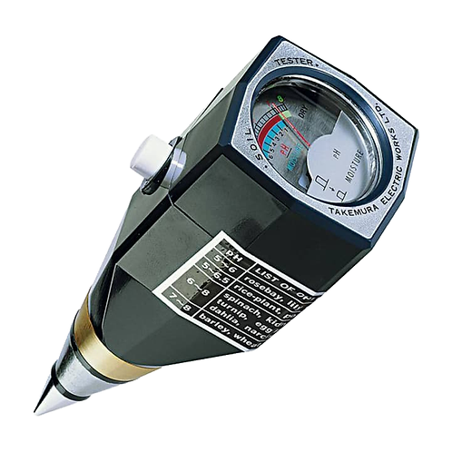 DM-15 Soil pH & Moisture Tester