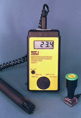 Thermo-Hygrometer WCM-1