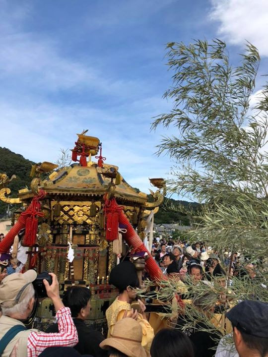 Mikoshi, portable Shrine