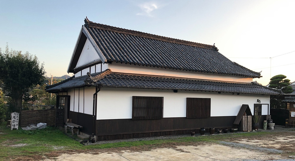 Cafe in an old home from Edo period