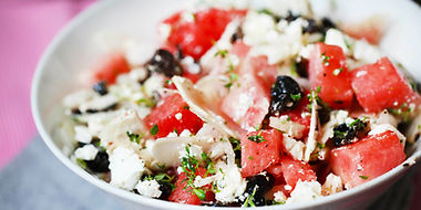 Watermelon-Feta-and-Kalamata-Olive-Salad