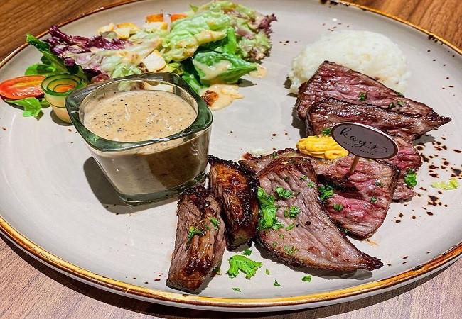 Kagoshima Wagyu A5 steak