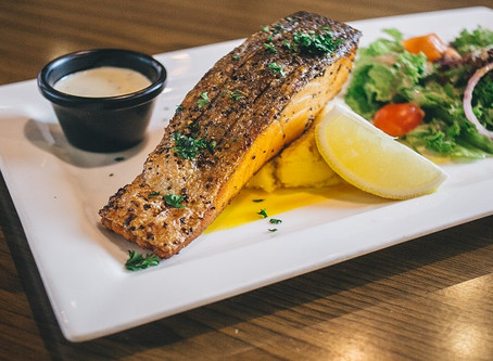 Hot and Sensational Grilled Norwegian Salmon At Your Doorstep