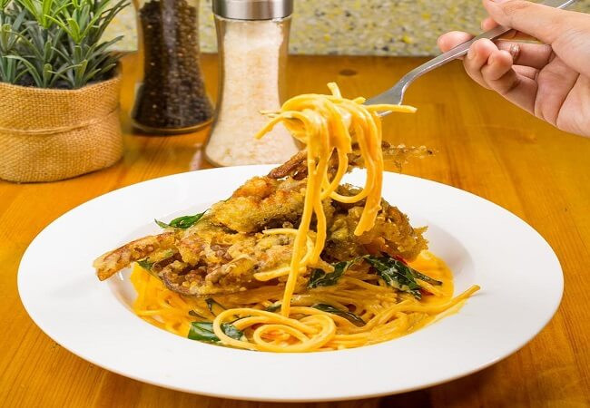 Salted Egg Soft Shell Crab