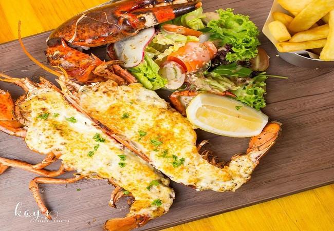 juicy fresh lobster