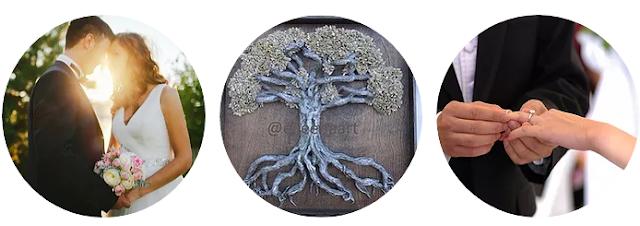 Love locks tree  A bi-dimensional sculpture tree of life by Eileen A art