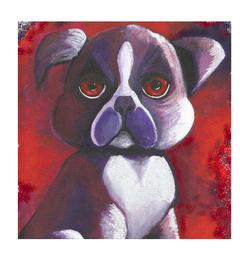 Purple Dog dream Eileenaart