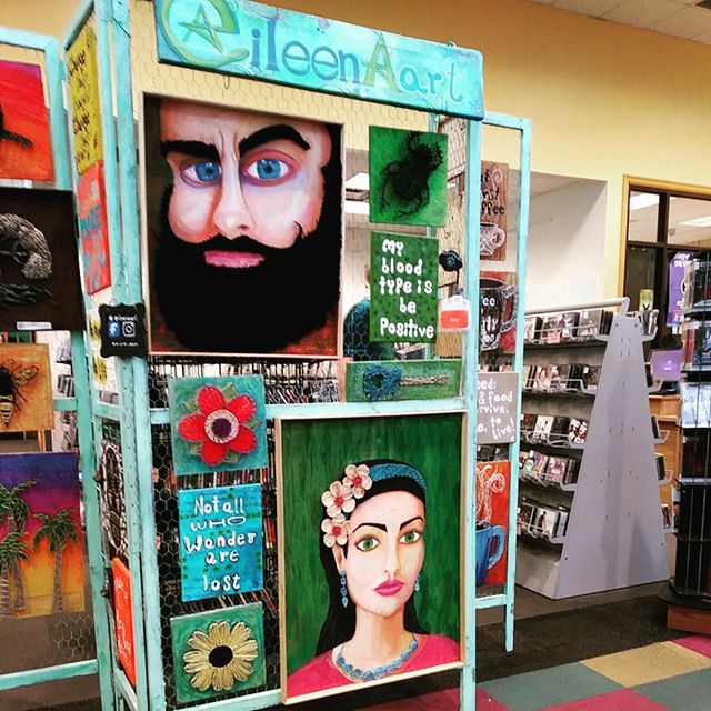 Etsy Festival Exhibit at the Alfaya library from 2 to 4pm__#orlandoiswonderful