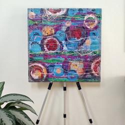 """Zero"" Restless mind eileen a art painting"