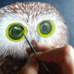 #eileenaart #😄 #OWL ..