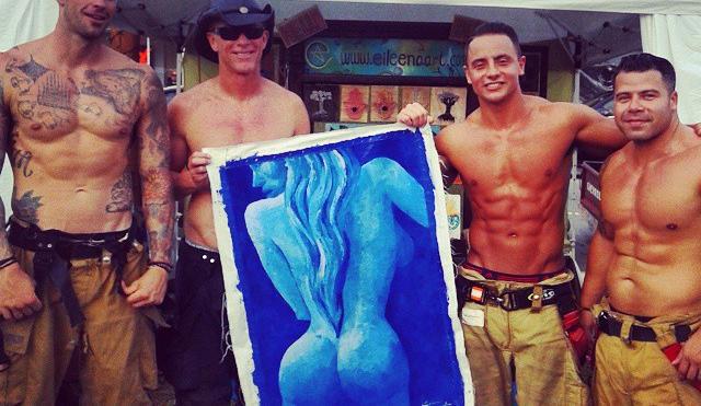 Naked blue