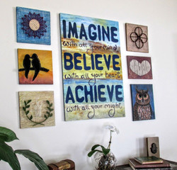 motivational quotes  wall decor by eileenaart (2)