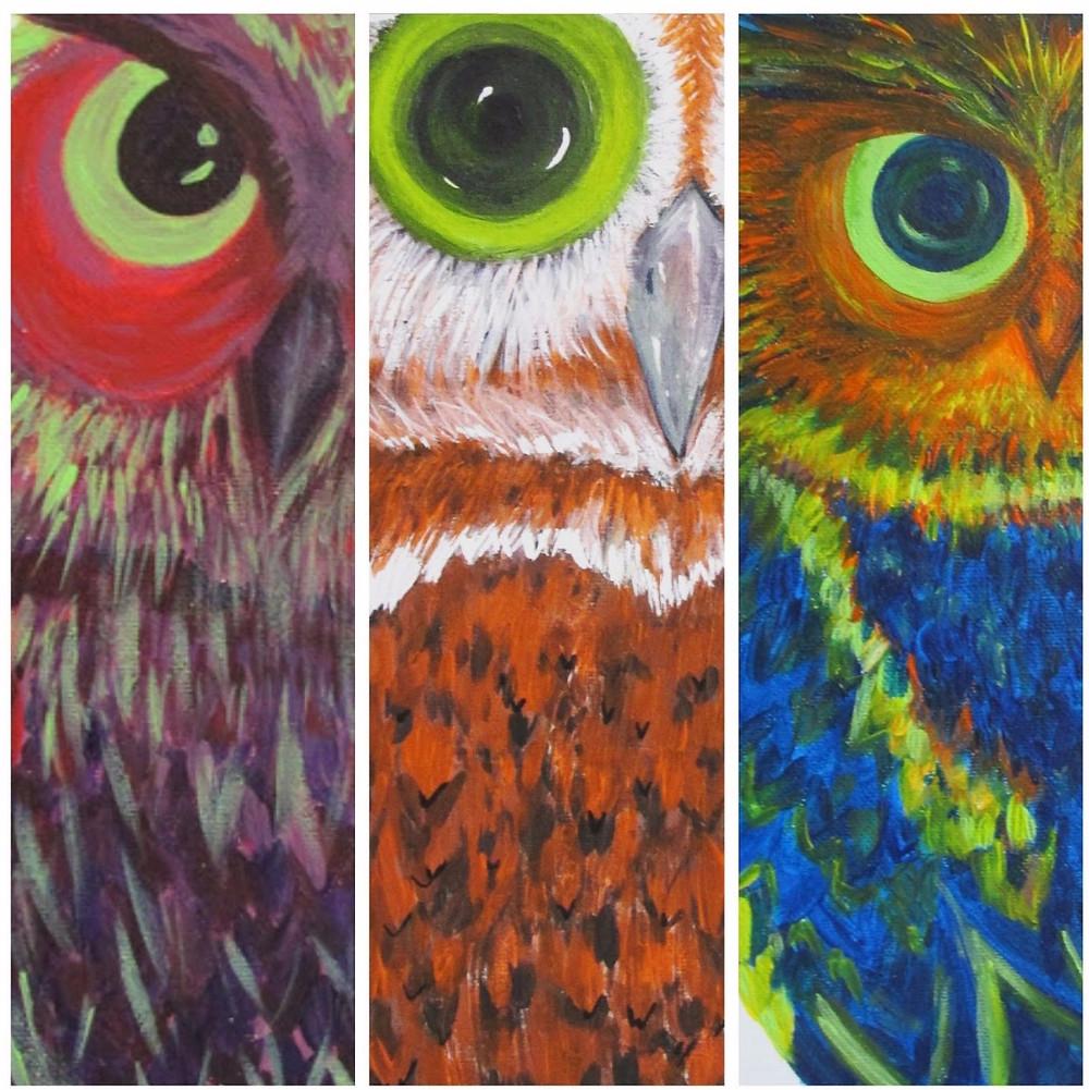 owls by eileenaart