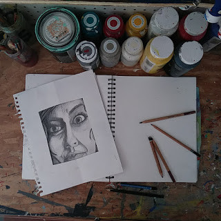 string art  portrait series by eileenaart