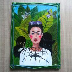Frida portrait by eileenaart_300