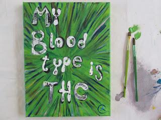my blood type  is thc eileenaart
