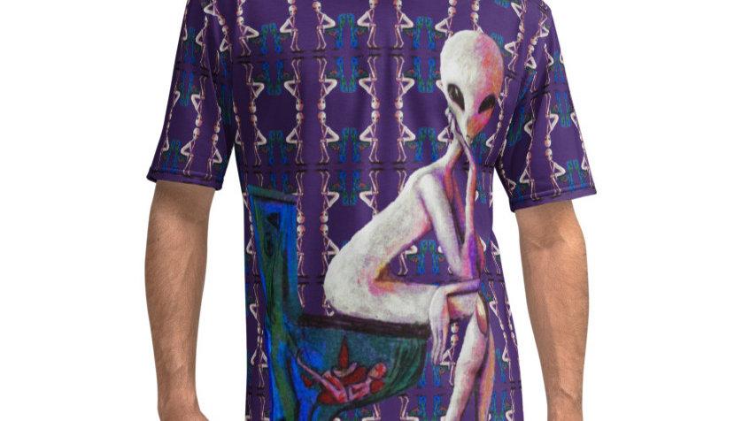 Men's T-shirt Alien