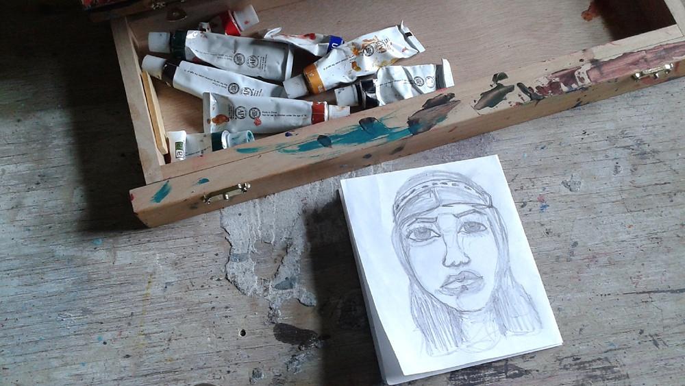 portrait series eileenaart