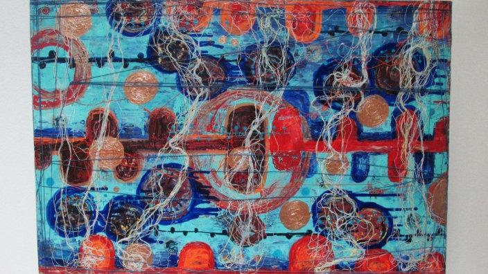 Abstract Art -original painting -eileenaart