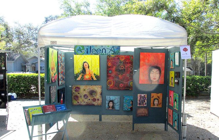 booth display eileenaart