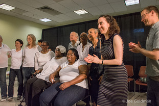 Julie Kline ACTING OUT performance - Stanley Isaacs Senior Center