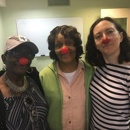 Julie Kline Clown Workshop - Stanley Isaacs