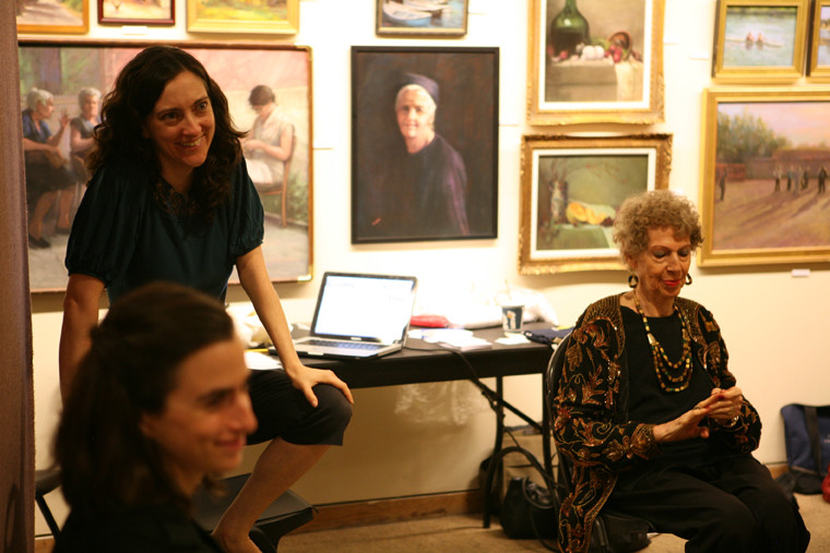 Julie Kline Seniors and the City Rehearsal - St Peter's Church Senior Center