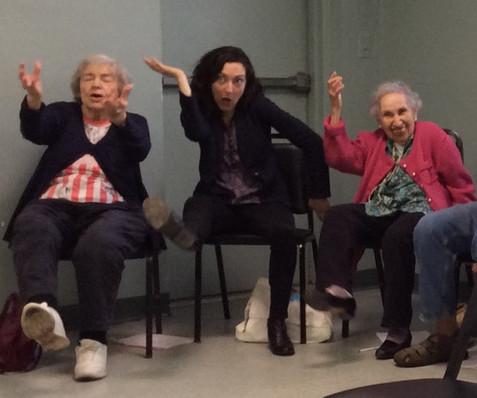 Julie Kline Intergenerational Workshop - JASA Coney Island