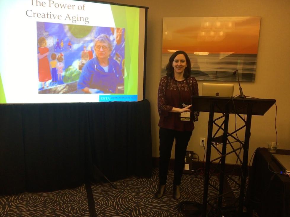 Julie Kline ESTA American Society on Aging Presentation