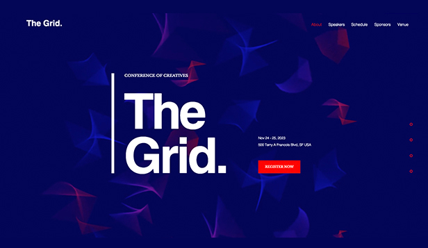 Design website templates – Designkonferanse