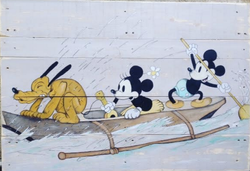 Mickey pirogue