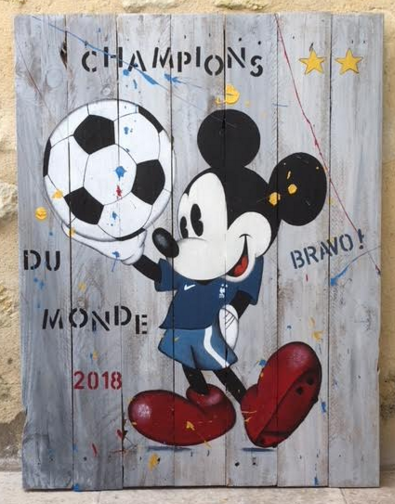 Mickey coupe de France !