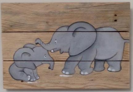 Duo éléphanteaux