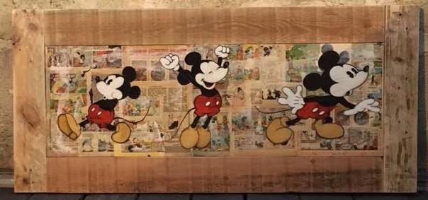 Mickey en frise