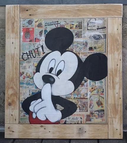 Mickey CHUT !