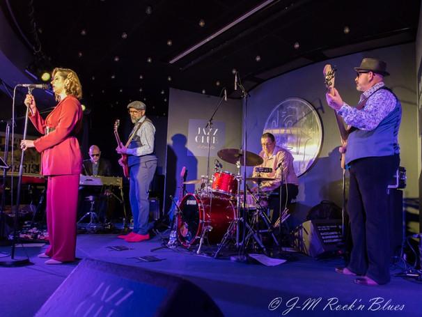 Jazz Club Etoile avec Elise & The Sugarsweets, janvier 2020