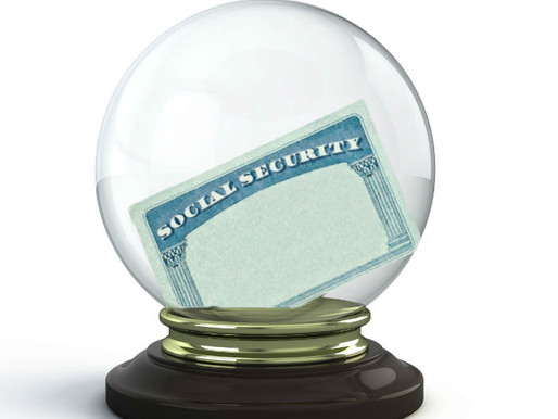Social Security Estimated Benefits