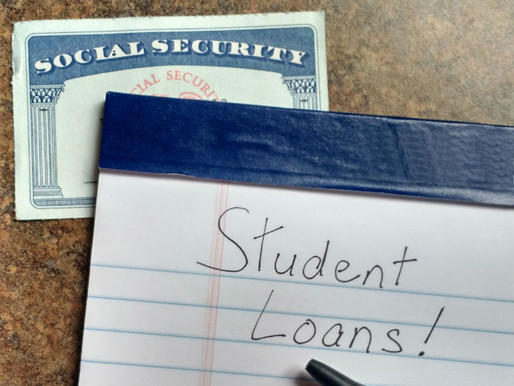 Student Loans and Social Security