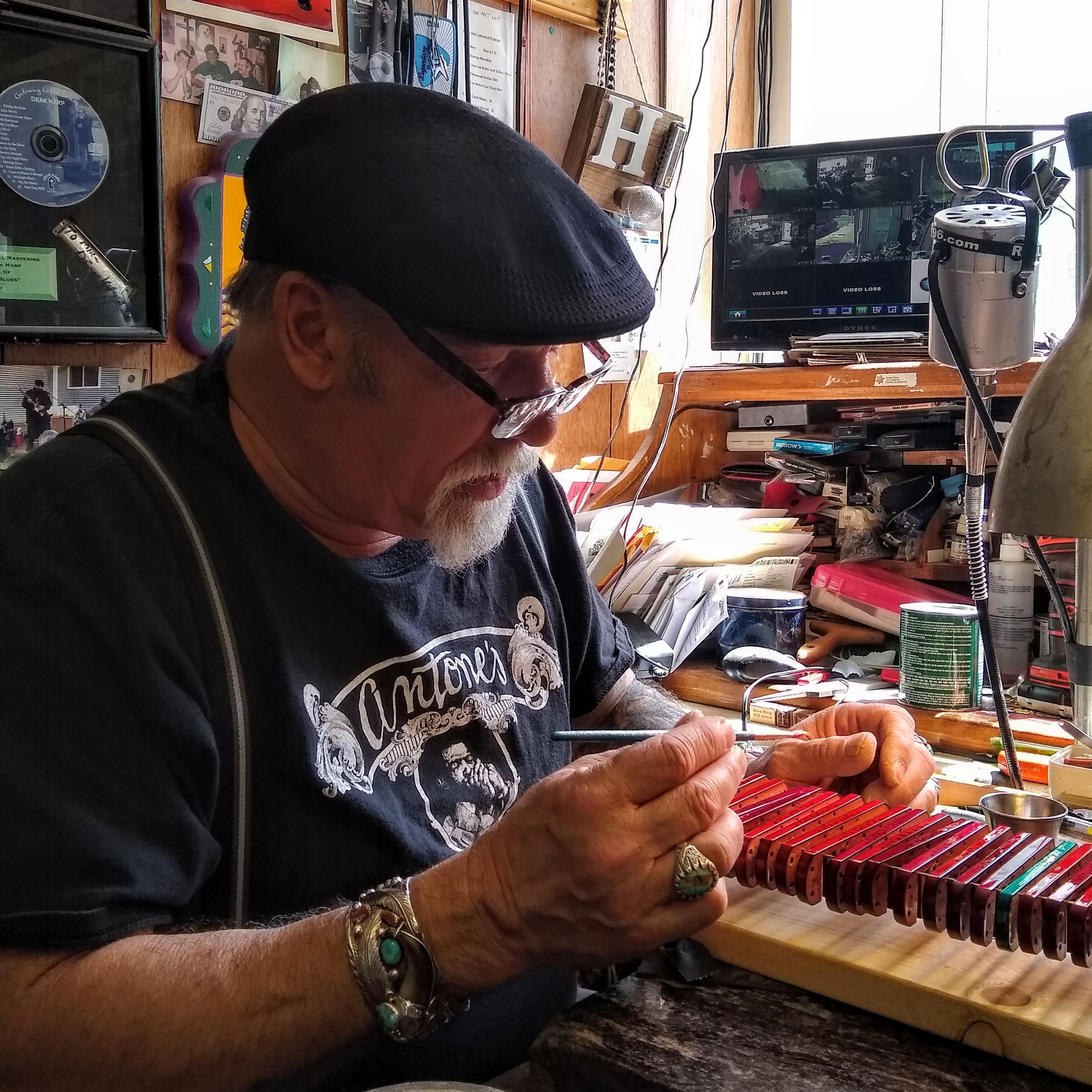 Deak Harp sings the blues