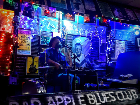 Grand opening: Bad Apple Blues Club