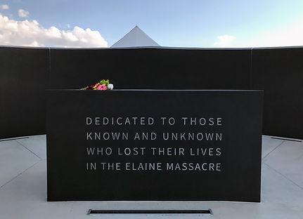 Dedication of the Elaine Massacre Memorial in Helena, Arkansas (c Shared Experiences USA)