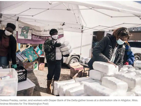 Diaper need as a window into poverty: Chelesa & the Delta Diaper Bank in the Washington Post