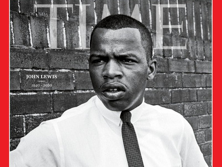 Rep. John Lewis' last words to us