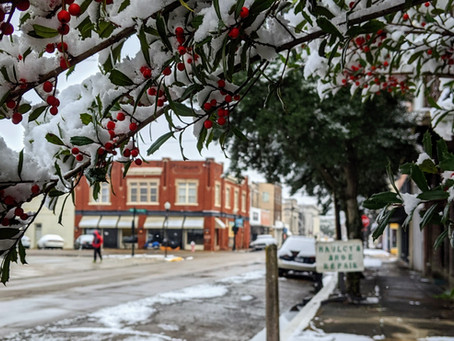 Virtual stroll: Clarksdale's winter wonderland