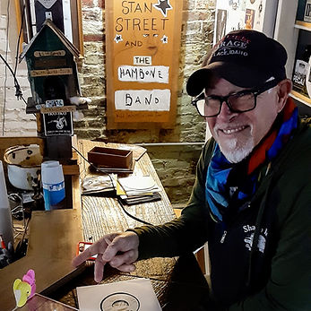 Blues musician & artist Stan Street | Hambone Art Gallery | Peep Tour of Clarksdale, Mississippi (c Shared Experiences USA)