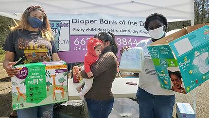 Delta Diaper Bank in action.jpg