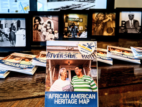 Launching Clarksdale's new African American Heritage Map