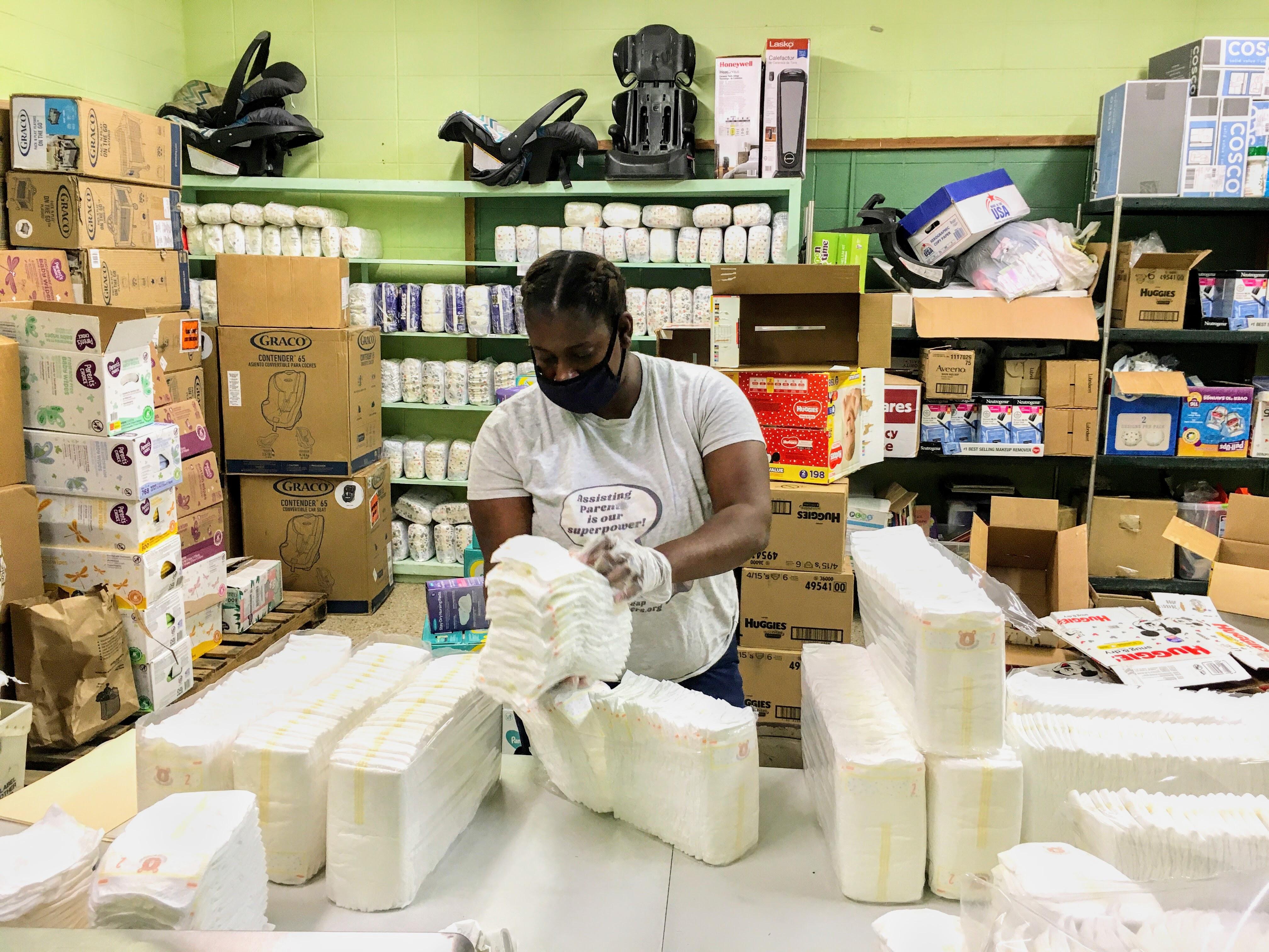 Volunteer Experience: Delta Diaper Bank