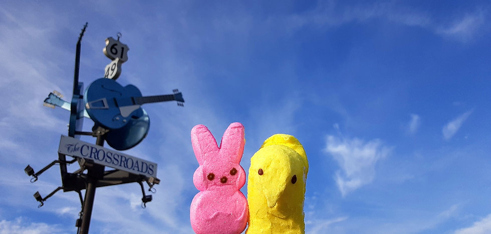 Peeps Tour the Crossroads in Clarksdale, Mississippi (c Shared Experiences USA)